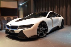 Спортивный облик BMW i8 AC Schnitzer.