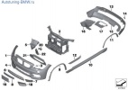 Дооснащение аэродинамическим комплектом М для BMW X1 E84