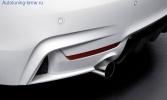Глушитель M Performance для BMW F22/F30/F32