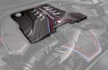Карбоновая крышка двигателя для BMW M5 F90