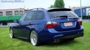 Комплект дооснащения аэродинамическим обвесом в М-стиле для BMW E91