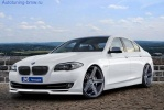 Накладка переднего бампера JMS для BMW F10 5-серия