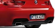 Насадки глушителя M Performance для BMW F06/F13 6-серия