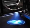 Светодиодная проекция логотипа в двери BMW