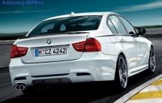 Бампер задний для BMW E90 3-серия