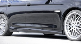 Пороги Kerscher для BMW F10 5-серия