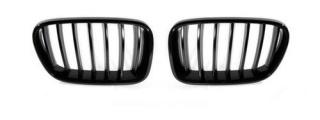 Чёрные решётки радиатора для BMW X3 F25