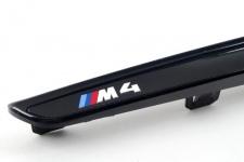 Чёрные глянцевые вставки в передние крылья BMW M4 F82