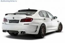 Диффузор заднего бампера Hamann для BMW M5 F10 5-серия