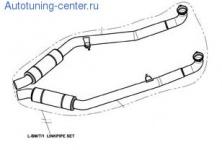 Front-pipe Akrapovic для BMW X5M E70/X6M E71