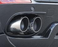Глушитель BMW X5 E70 (раздвоенный выхлоп)