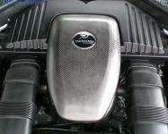 Карбоновая накладка HAMANN на двигатель BMW X5 E70