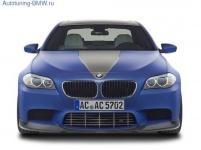 Карбоновая накладка переднего бампера AC Schnitzer для BMW M5 F10