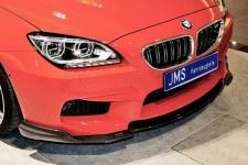 Карбоновая накладка переднего бампера BMW M6 F06/F13