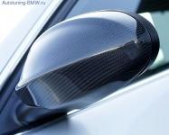 Карбоновые накладки на зеркала для BMW E90 3-серия
