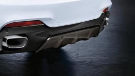 Карбоновый диффузор M Performance для BMW X6 F16
