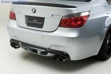 Карбоновый диффузор заднего бампера BMW M5 E60 5-серия