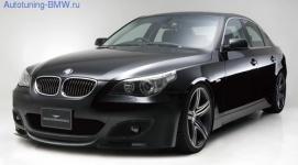Комплект аэродинамического обвеса WALD для BMW E60 5-серия
