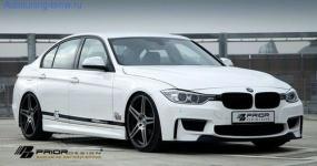 Боковые пороги Prior Design для BMW F30 3-серия