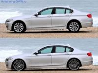 Комплект дооснощения накладками Shadow-Line для BMW F10 5-серия