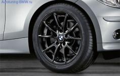 Комплект оригинальных дисков BMW Double-Spoke 178 Black