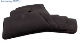 Велюровые ножные коврики для BMW E87 1-серия
