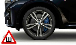 Комплект зимних колес Double Spoke 754M Performance для BMW X7 G07