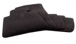 Велюровые ножные коврики для BMW E90 3-серия