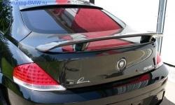 Карбоновая крышка багажника BMW E64 6-серия