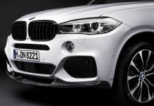 Карбоновый сплиттер M Performance для BMW X5 F15