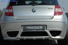 Накладка на бампер задний BMW E81/E87 1-серия