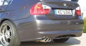 Накладка на бампер задний BMW E91 3-серия
