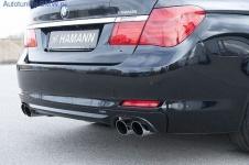 Накладка на бампер задний BMW F01 7-серия