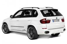 Накладка на бампер задний BMW X5 E70