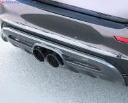 Накладка на бампер задний BMW X6M