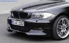Накладка бампера AC Schnitzer для BMW E82/E88 1-серия
