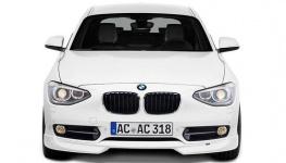 Накладка переднего бампера для BMW F20 1-серия