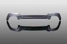 Вставка заднего бампера AC Schnitzer для BMW G20 3-серия