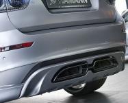 Накладка заднего бампера BMW X6M E71