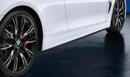 Накладки боковых порогов M Performance для BMW F32 4-серия