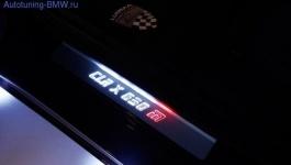Накладки на пороги дверей для BMW X6 E71