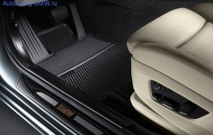 Накладки на пороги дверей с подсветкой для BMW F07 GT 5-серия