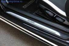 Накладки на пороги Kelleners для BMW F10 5-серия