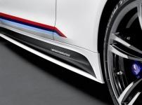Накладки на пороги M Performance для BMW M4 F82