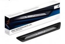 Накладки на пороги с подсветкой для BMW X3 F25