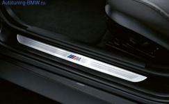 Накладки порога в M-стиле для BMW E90 3-серия