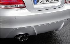 Накладка заднего бампера AC Schnitzer для BMW E82/E88 1-серия