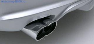 Насадка на глушитель AC SCHNITZER для BMW E90/E92 3-серия