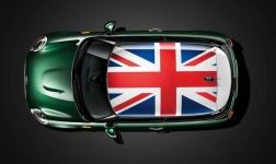 Отделка крыши Union Jack для MINI F55