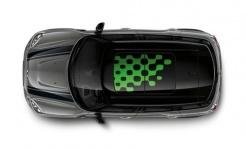 Отделка стеклянного люка Vivid Green для MINI F55/F56/F60 Countryman